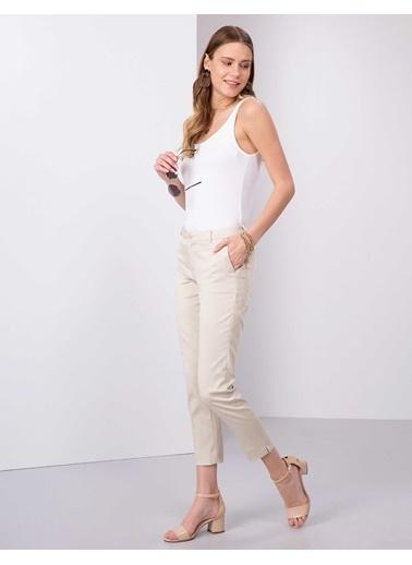 Pierre Cardin Klasik Pantolon Beyaz